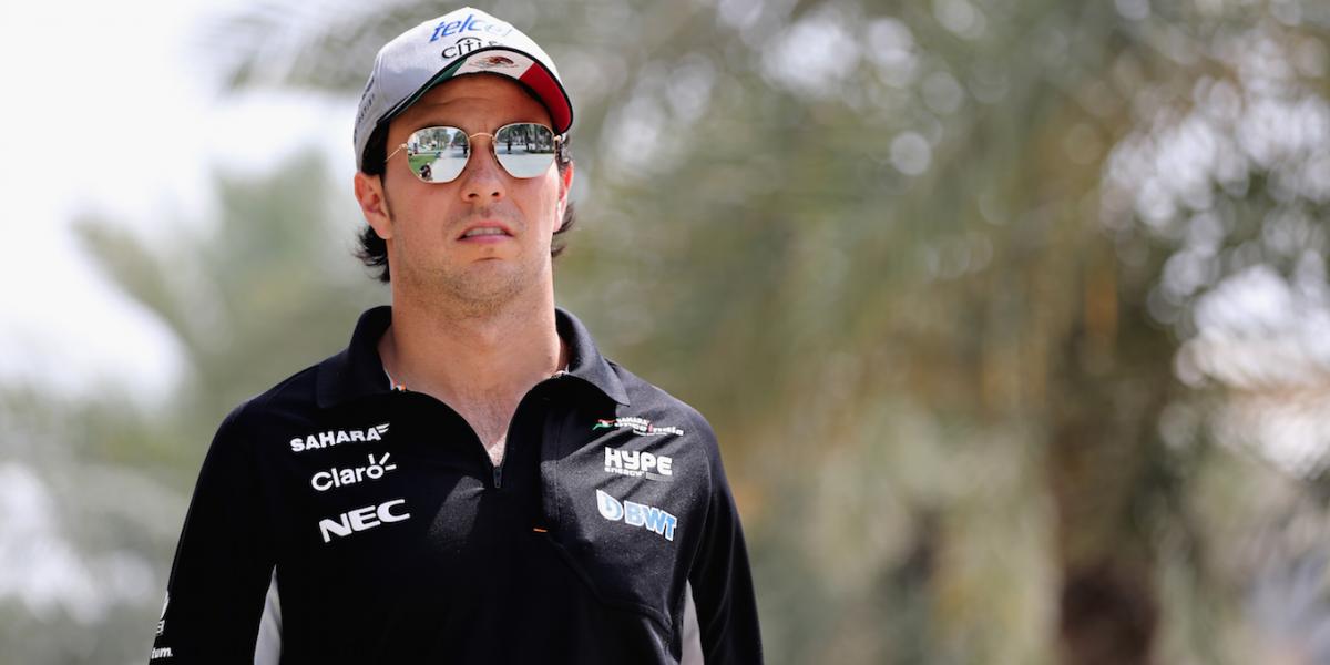 Checo Pérez quiere repetir el podio en Sochi