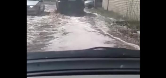 Accidente en una fábrica causa inundación de jugo en una ciudad de Rusia