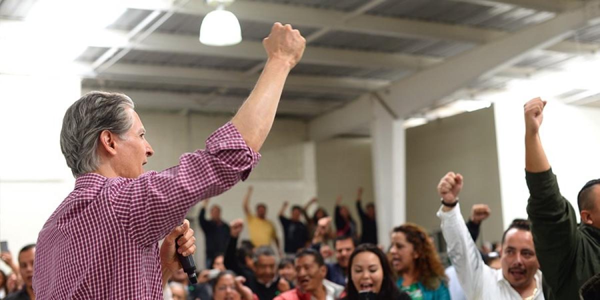 Alfredo Del Mazo presume ir a la cabeza en varias encuestas