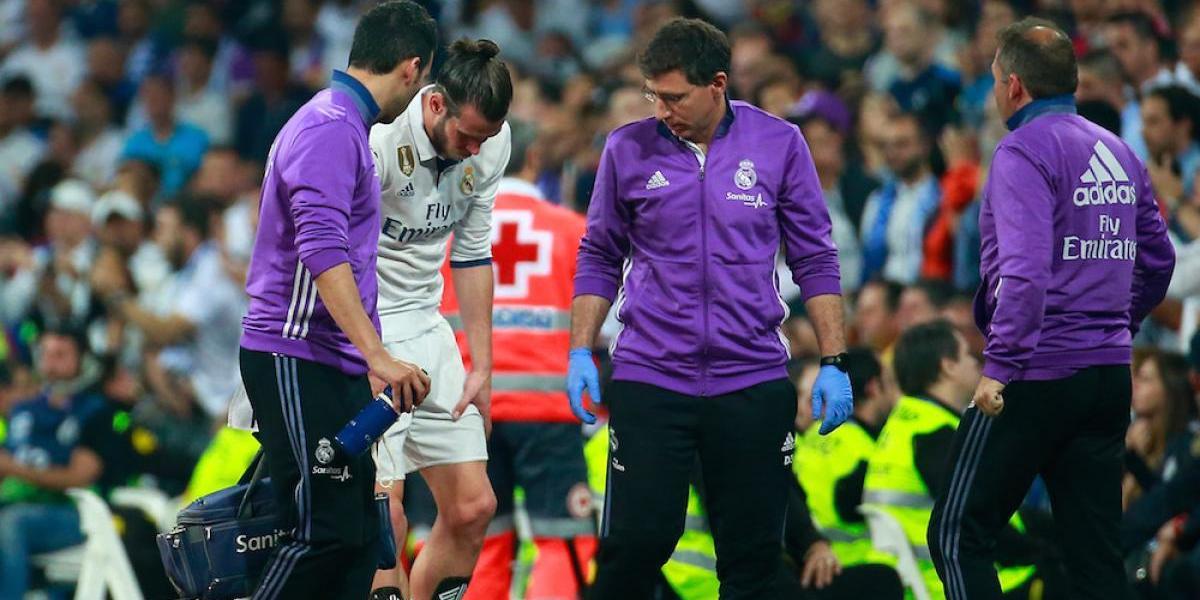 Gareth Bale se perderá las semifinales de la Champions League por lesión