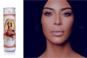 Kim Kardashian pone a la venta veladoras con su imagen