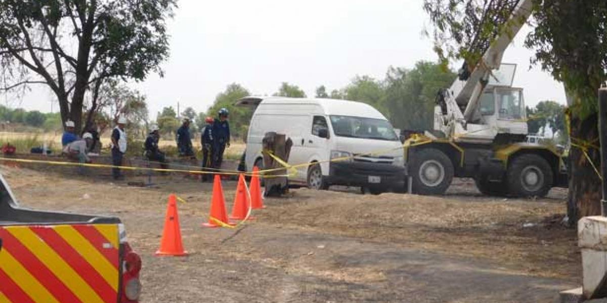 Autoridades de Guanajuato encuentran muerto a niño que cayó en pozo