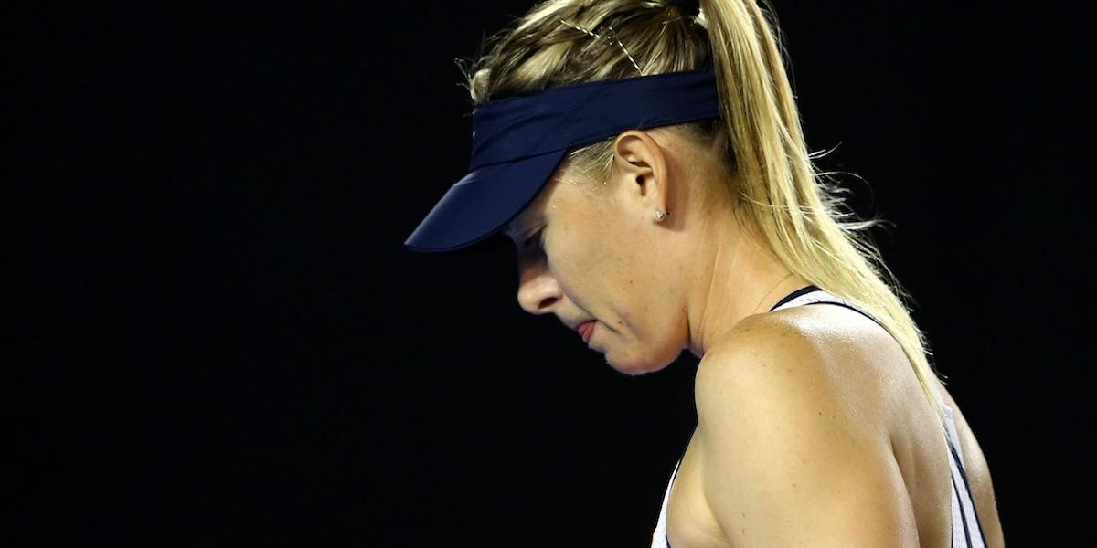Le salen más detractoras al regreso de María Sharapova