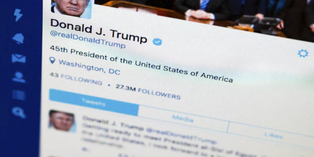 Tuits de Trump no ayudan a Twitter