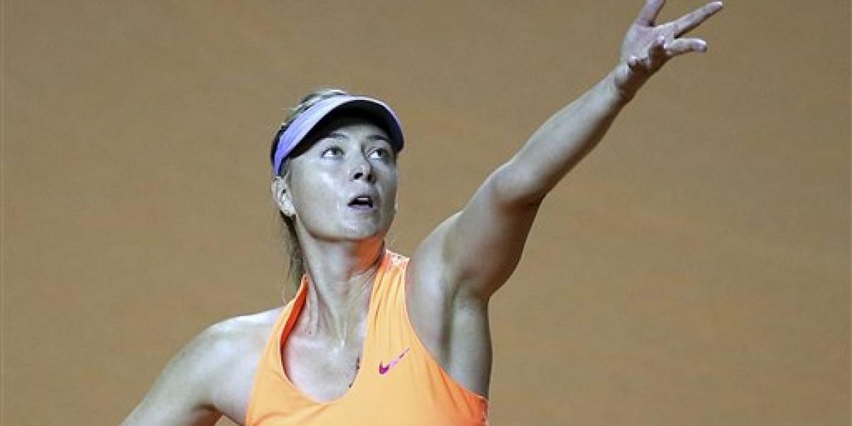 Recibimiento indiferente para Maria Sharapova tras regreso