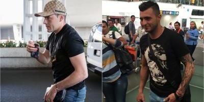Triverio y Aguilar viajaron a audiencia con el TAS