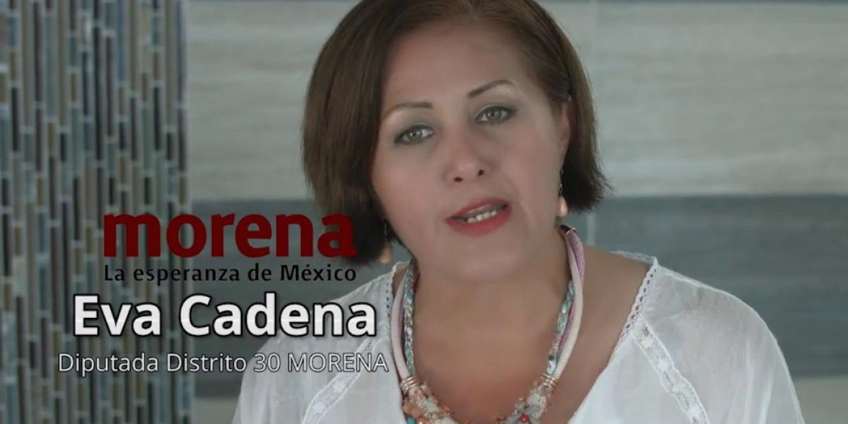 Eva Cadena no irá a prisión porque no cometió un delito grave: Fepade
