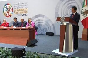 EPN llama a la cooperación para el desarrollo de América Latina y el Caribe