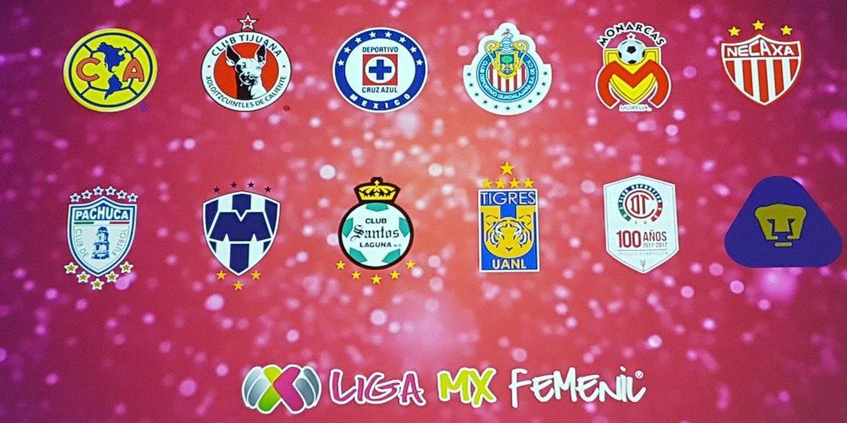 Así quedaron los grupos para el primer torneo de la Liga MX femenil