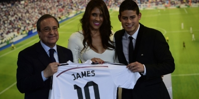 Daniela Ospina confía en que James se quedará en Madrid