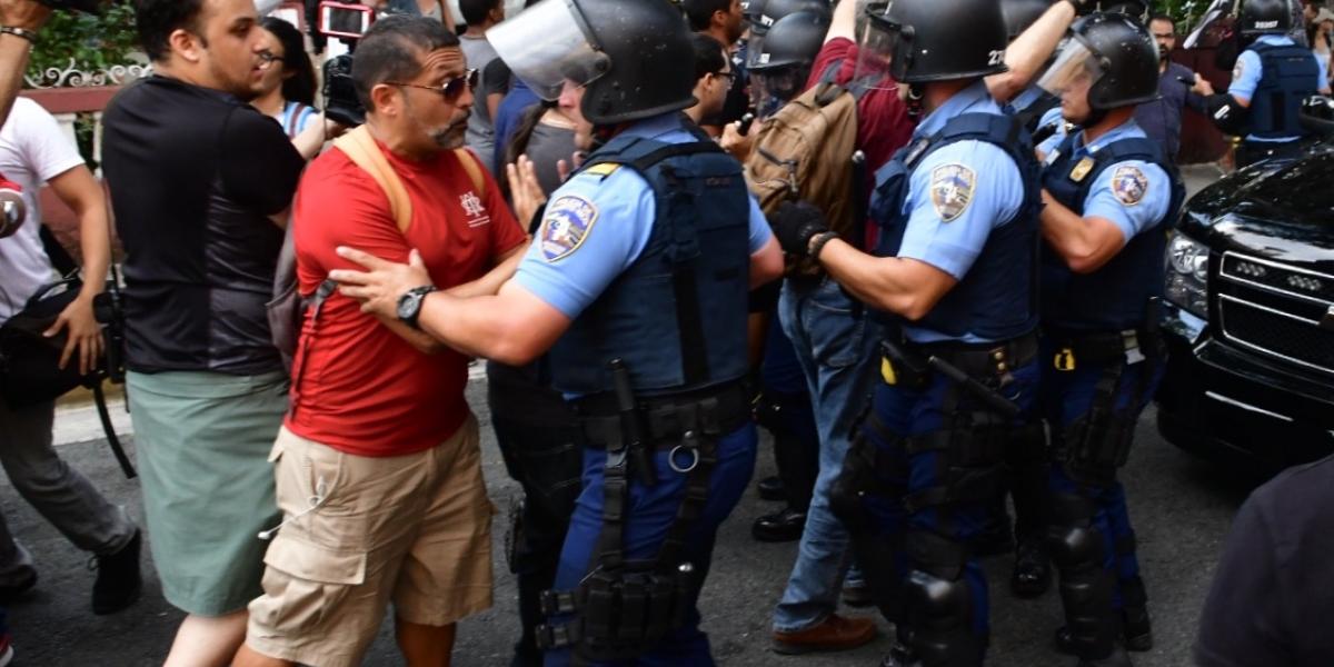 Policía verifica las redes sociales de manifestantes