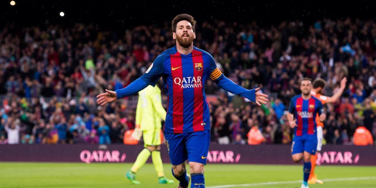 Barcelona asegura su liderato con goleada sobre el Osasuna