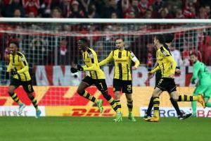 Borussia Dortmund elimina al Bayern Munich de la Copa alemana