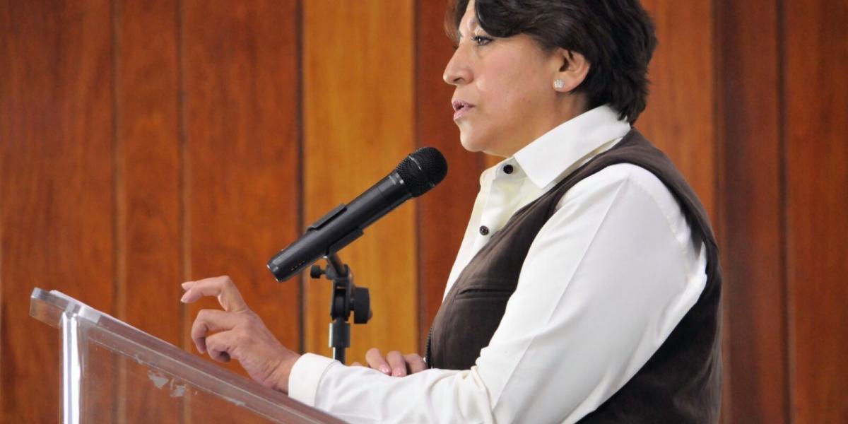 Admite Delfina Gómez descuentos a trabajadores; fueron voluntarios, asegura