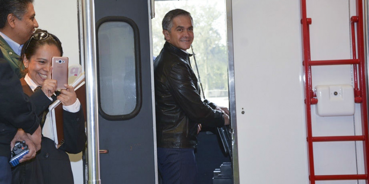 Se compromete Mancera a mantener precio de boleto del Metro
