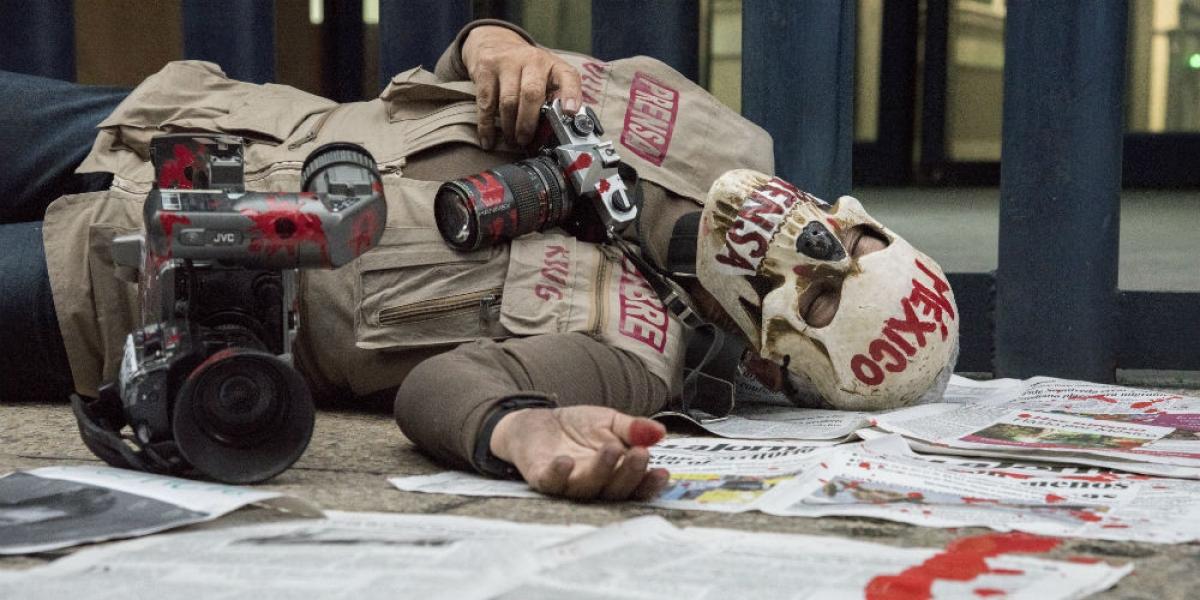 México, segundo país de AL con menos libertad de prensa