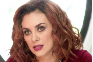 Aracely Arámbula publica imagen con cuatro meses de embarazo