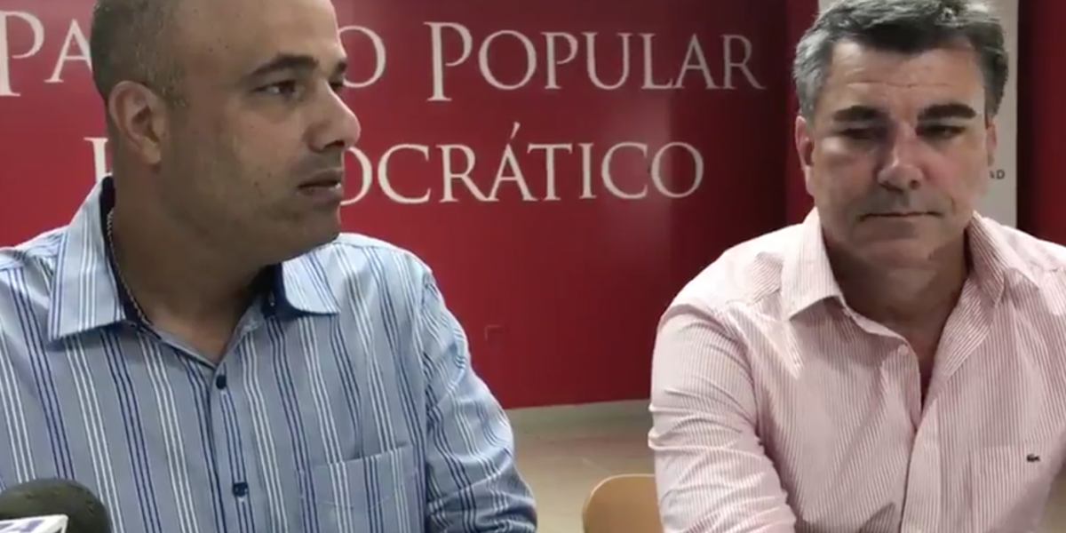 Disidentes dejan plantado a Héctor Ferrer
