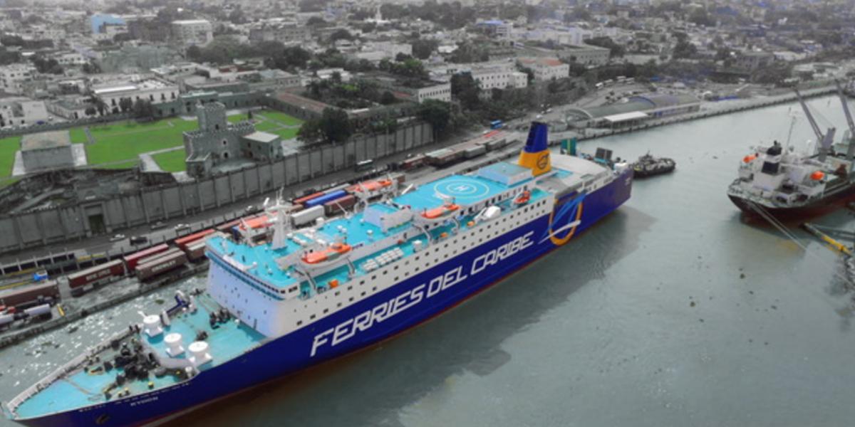 Llega la nueva embarcación ferry-crucero a San Juan