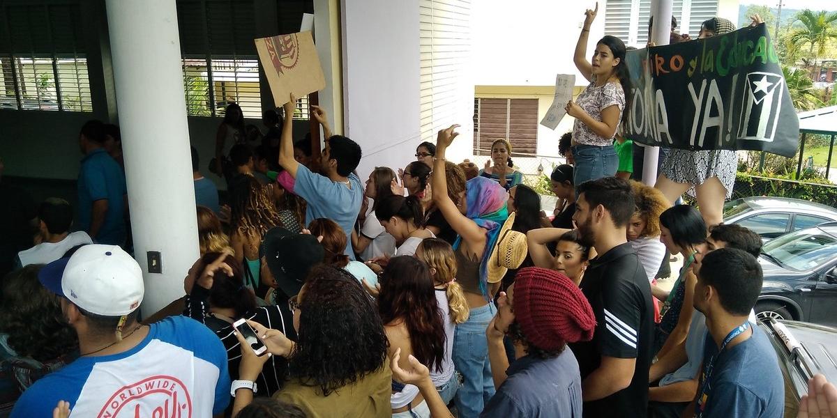 UPR Utuado levanta huelga
