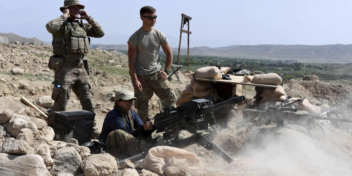 Dos soldados estadounidenses mueren en combates contra EI en Afganistán