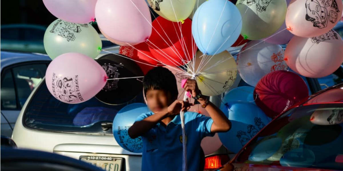 Rescatarán a niños que trabajan en calles de la CDMX