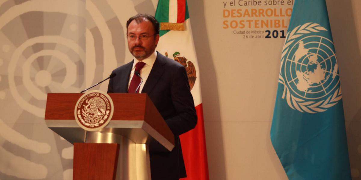Llamada de Peña advirtió a Trump sobre salida de EU del TLCAN: Videgaray
