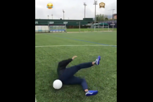 VIDEO: El fail de Neymar en una jugada de fantásia