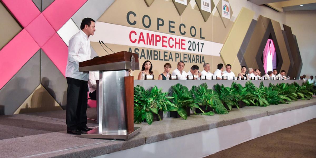 Es necesario poner un freno y erradicar la corrupción en México: Osorio Chong