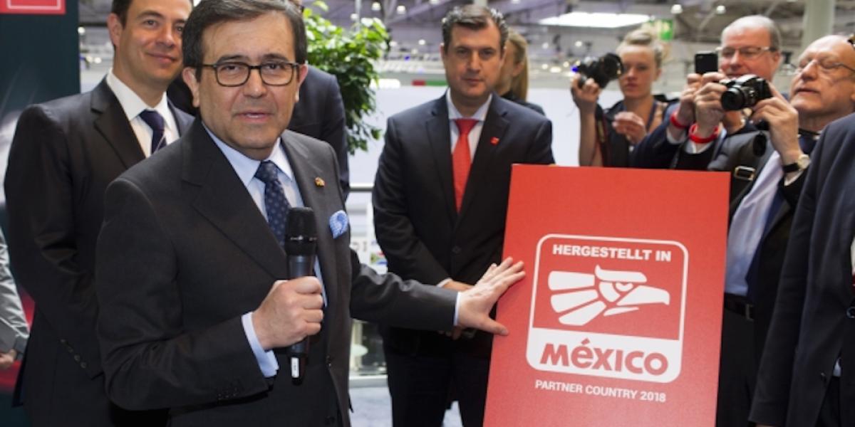 Eligen a México como país socio de la Feria Industrial de Hannover 2018