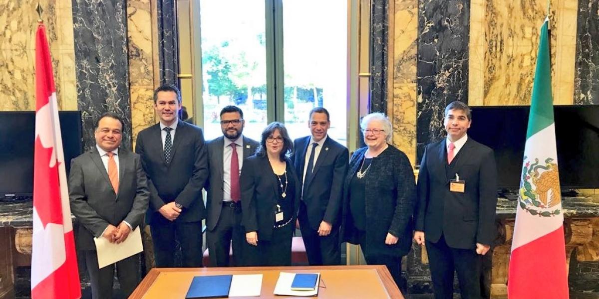 México y Canadá firman convenio para mejores prácticas regulatorias en materia ambiental