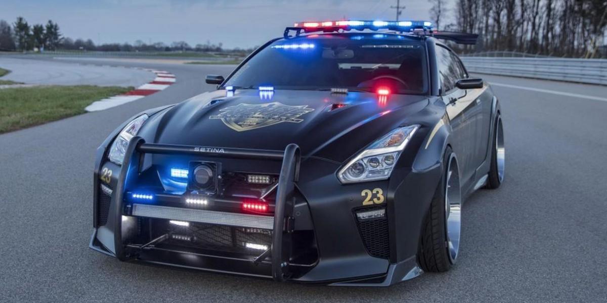 """""""Copzilla"""": El impactante diseño de Nissan para un auto policial"""