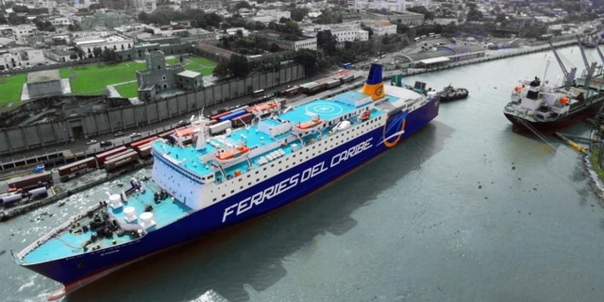 Llega nueva embarcación de Ferries del Caribe