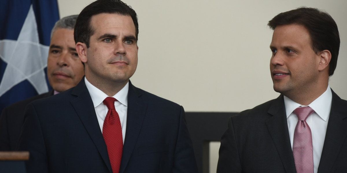 Reacciona Rosselló tras pelea de representante con manifestantes