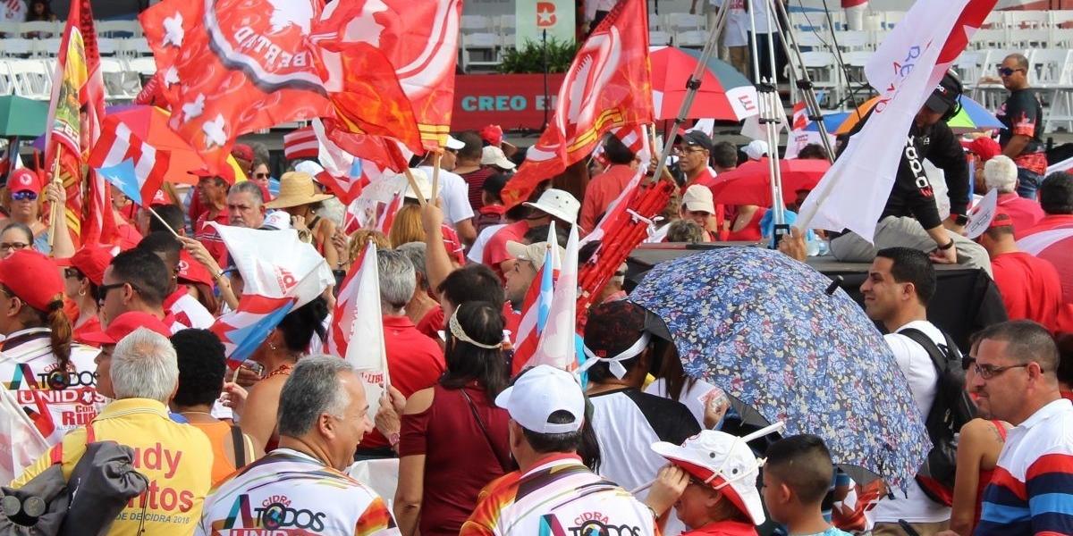 Aspirantes del PPD presentan sus propuestas en la Convención