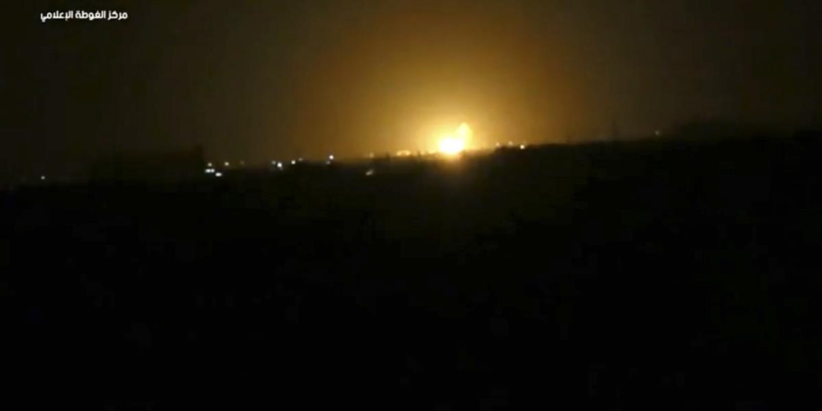 Siria: Medios locales atribuyen a Israel un ataque cerca de Damasco