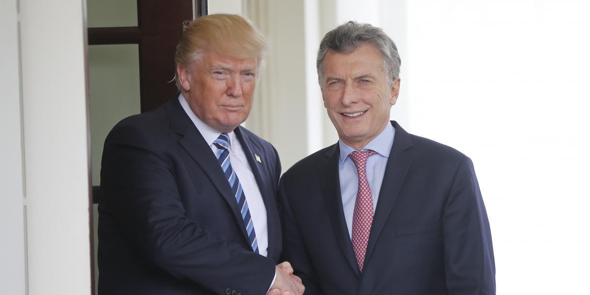 Trump destaca su amistad con Macri y asegura que es