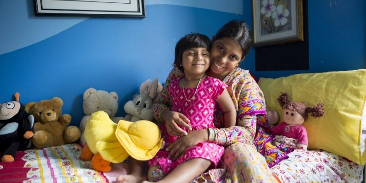 Milagro médico: así será la nueva vida de la niña que nació con tres piernas