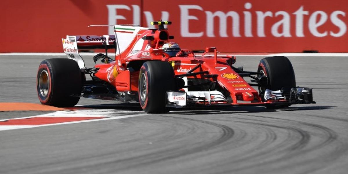 Ferrari sigue amenazando a Mercedes : Raikkonen domina los ensayos previos al GP de Rusia