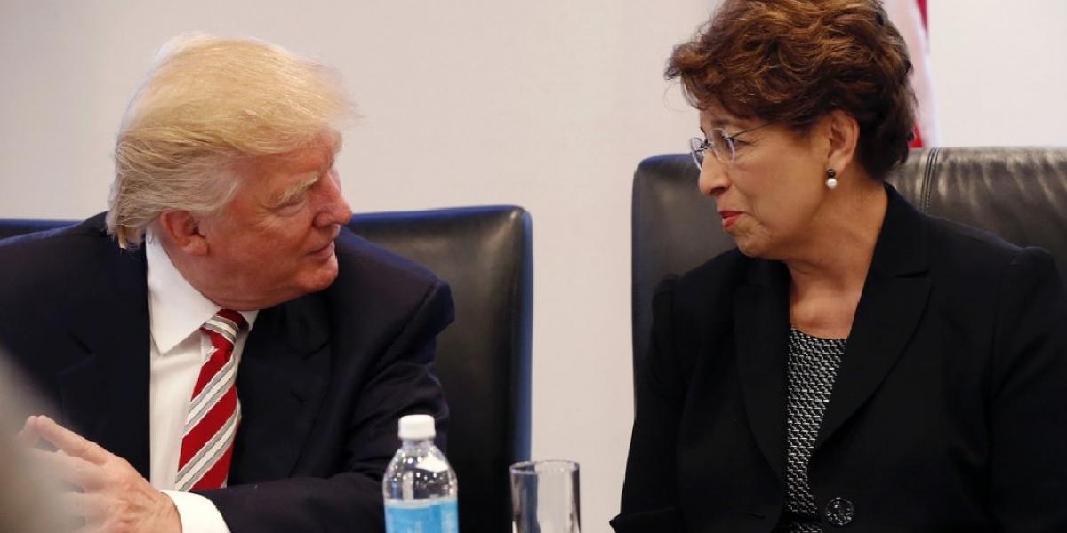 Trump nombra a mexicana-estadounidense como tesorera de gobierno