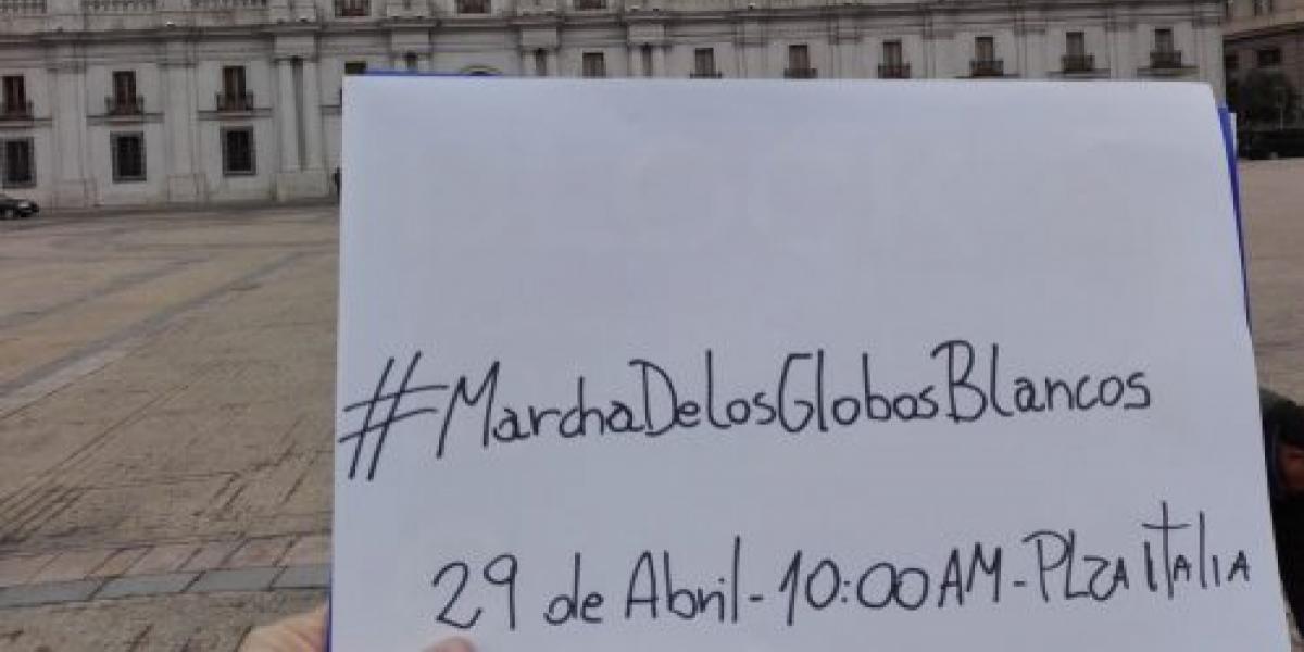 """""""Marcha de los Globos Blancos"""": Chile se mueve por los refugiados sirios"""