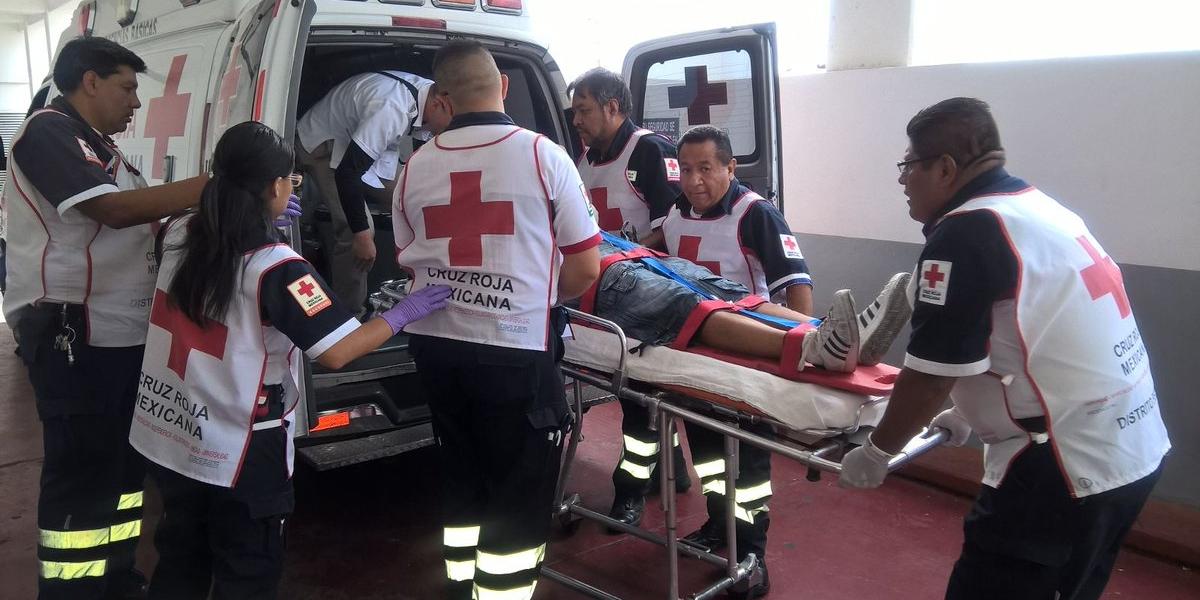 Balacera en Eje Central, junto a Plaza Meave, deja un muerto y 3 heridos