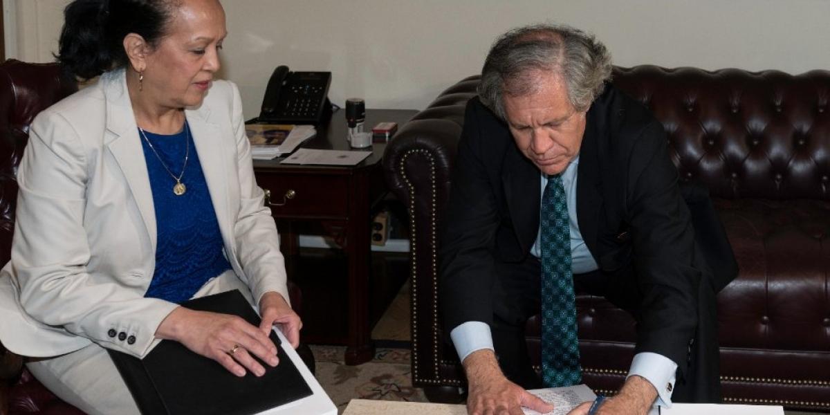 Venezuela solicita formalmente abandonar la OEA