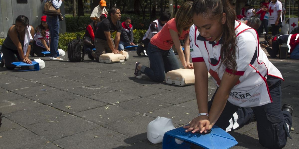 Cruz Roja quiere establecer Récord Guinness de Reanimación Cardiopulmonar (RCP)