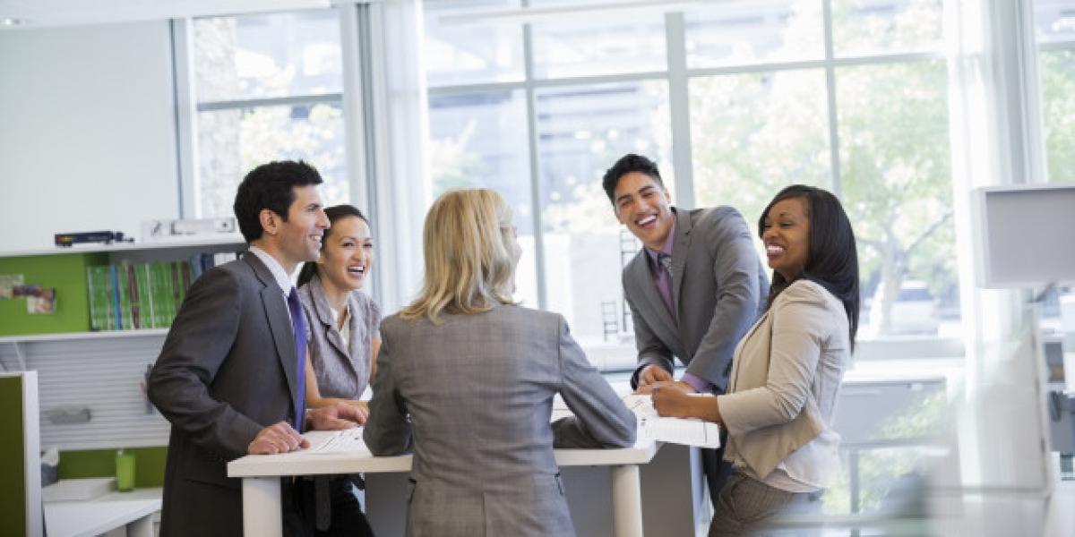 Cómo contribuye el diseño de la oficina a ser más feliz en el trabajo