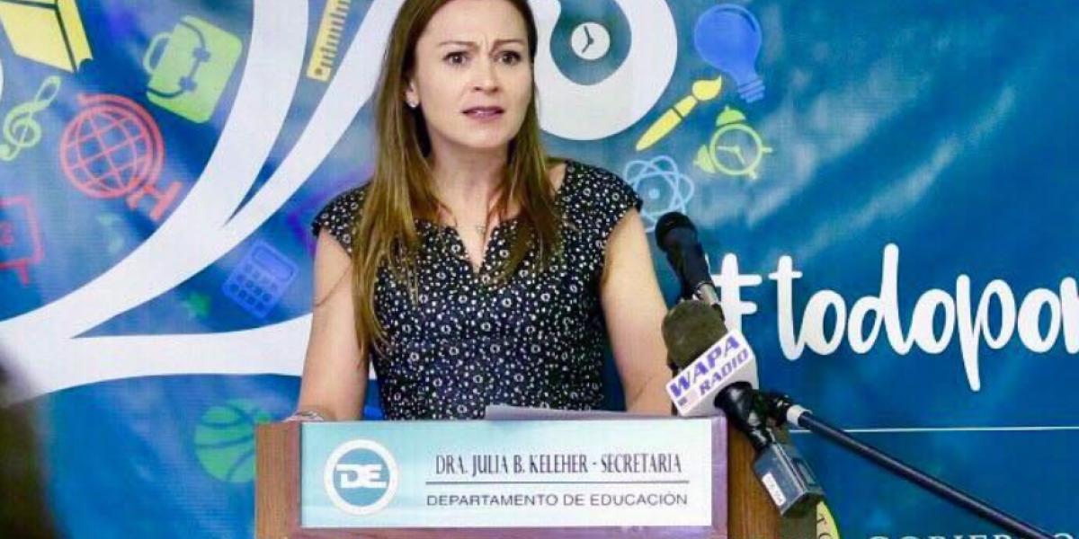 Secretaria de Educación asegura que el lunes las clases se van a dar