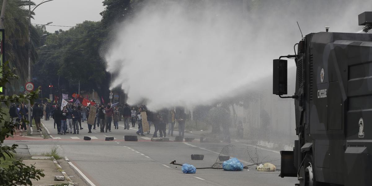 Huelga de transporte paraliza a Brasil