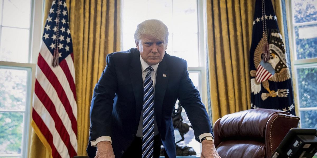 Esto pasará cuando Trump presione el botón rojo de su escritorio