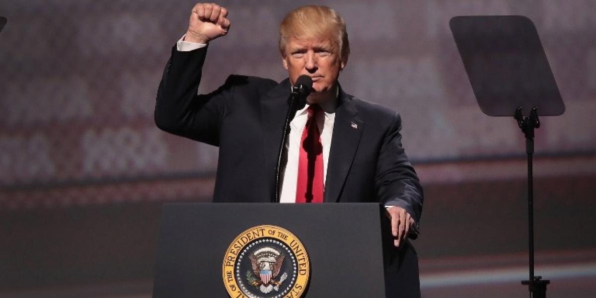 """Trump a las organizaciones pro armas en EEUU: """"tienen un amigo en la Casa Blanca"""""""