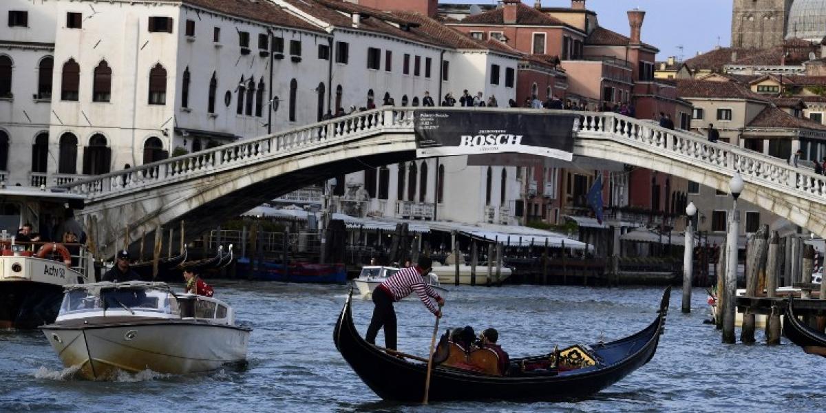 """Venecia instalará """"cuenta personas"""" para estudiar cómo regular el turismo"""